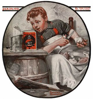 1921-01-29-Saturday-Evening-Post-Norman-Rockwell-cover-Boy-Reading-Pirate-Stories-no-logo-400-Digimarc