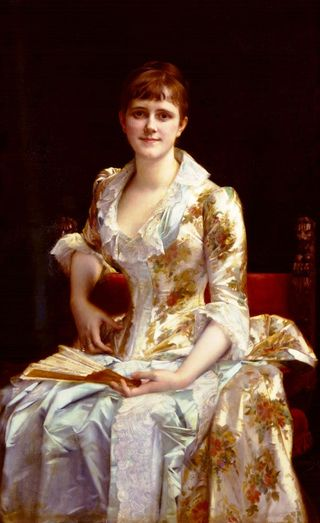 Alexandre Cabanel - Portrait of a Young Lady