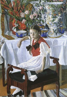 Girl with Porcelain1916