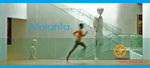 Image of Atalanta running in the Ashmolean