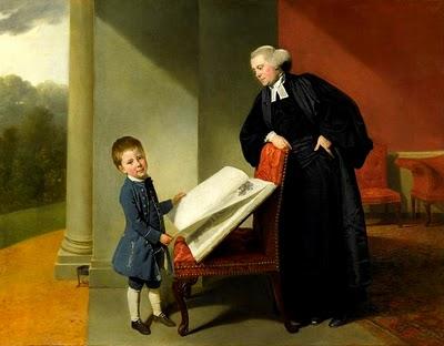 Le révérend Randall Burroughes et son fils Ellis