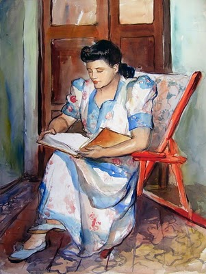 Teodoro-nunez-ureta-la-lectura-1930