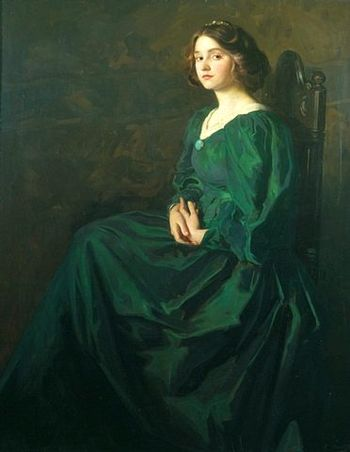 Mostyngreen gown