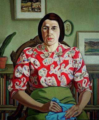 [rita+angus,+portrait+of+betty+curnow+1942