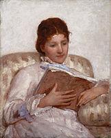 File:Mary_Cassatt_The_Reader_1877