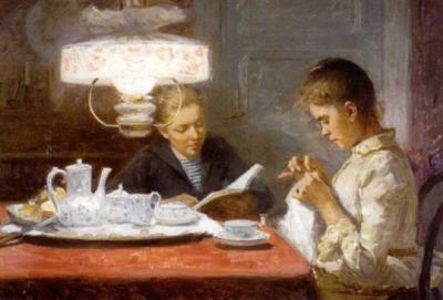 14 1861 Elin Kleopatra Danielson-Gambogi (Finnish painter, 1861-1919) Se-1