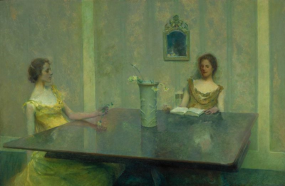 Thomas_Wilmer_Dewing_-_A_Reading_-_1897